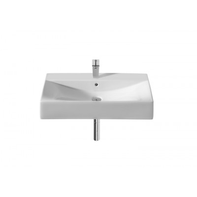 Diverta Настенная, накладная или встраиваемая в мебель керамическая раковина 750*440
