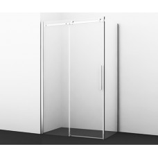 Alme Душевой уголок, прямоугольник, с универсальной раздвижной дверью