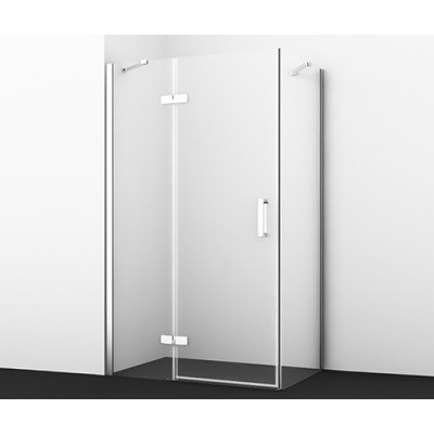 Aller Душевой уголок, прямоугольник, с левой распашной дверью