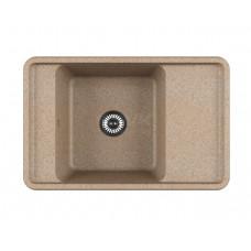 """""""Беллис"""" мойка кухонная 510x780x250 мм, песочный"""