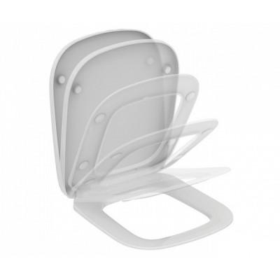 ESEDRA Сидение и крышка, дюропласт, с функцией плавного закрытия.