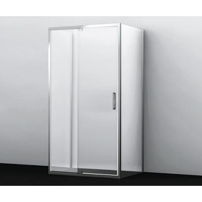 Berkel Душевой уголок, П-образный, прямоугольник, с универсальной распашной дверью