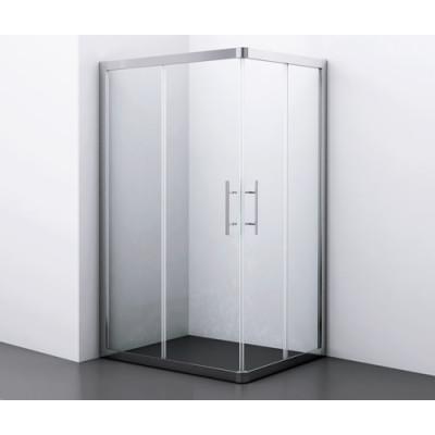 Amper Душевой уголок, прямоугольник, с раздвижными дверьми