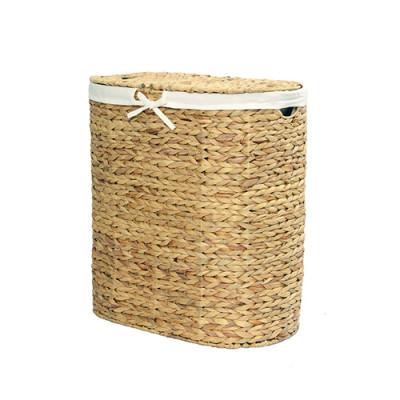 Dill Плетеная корзина для белья с крышкой