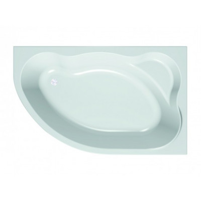 AMADIS NEW 160*100 ванна на каркасе с экраном, лев