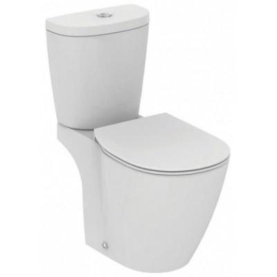 Connect Aquablade напольный унитаз с бачком и  тонким сиденьем микролифт, белый