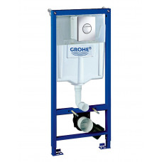 GROHE Solido 3 в 1 в сборе, для подвесного унитаза (с кнопкой смыва Nova Cosmopolitan)