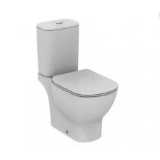 Унитаз Ideal Standard Tesi Aquablade напольный, c бачком с тонким сиденьем микролифт