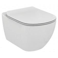Унитаз Ideal Standard Tesi Aquablade подвесной, со скрытым креплением, с тонким сиденьем микролифт