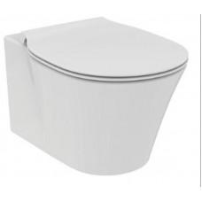 Ideal Standard Connect Air Aquablade унитаз подвесной со скрытым креплением с тонким сиденьем микролифт, белый