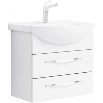 ALLEGRO 65 комплект мебели с 2-мя ящиками подвесной (тумба + раковина Элеганс 650, Россия)