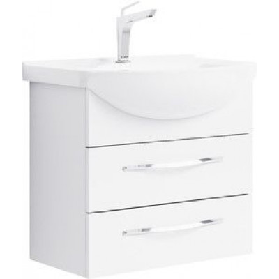 ALLEGRO 85 комплект мебели с 2-мя ящиками подвесной (тумба + раковина Стиль 850, Россия)