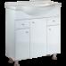 BARCELONA-LUX 85 комплект мебели на ножках (тумба + раковина Дрея 85, Россия)
