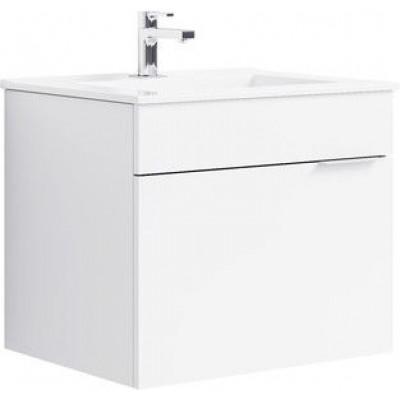 BRIG 60 комплект мебели подвесной (тумба + раковина Quadro 60, Россия) белый