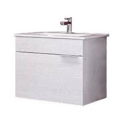 BRIG 60 комплект мебели подвесной (тумба + раковина Quadro 60, Россия) сосна магия