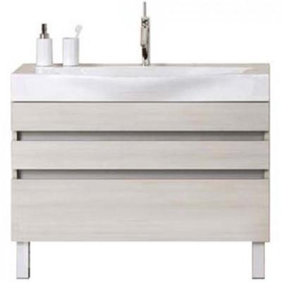 BERGAMO 100 комплект мебели напольный (тумба + раковина Bergamo 1000, Россия) акация Ber.01.10/n/А