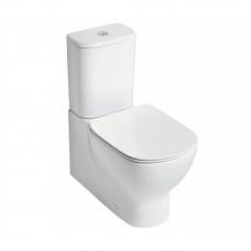 Напольный пристенный унитаз Ideal Standard Tesi Aquablade c бачком с тонким сиденьем  микролифт