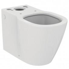 Connect AquaBlade® Напольный пристенный унитаз для монтажа с бачком E797001 или E785601, для монтажа с сидением и крышкой E712801/E712701 (обычное) или E772301/E772401 (тонкое)