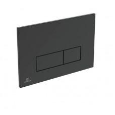 Панель смыва Ideal Standard OLEAS M2 механическая, чёрная