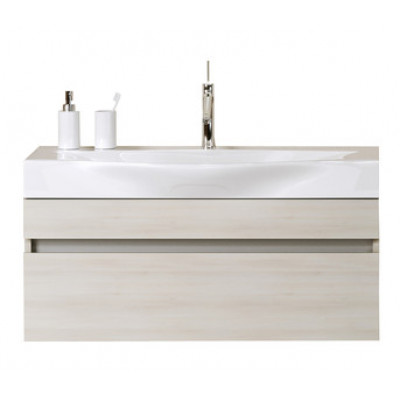 BERGAMO 80 комплект мебели подвесной (тумба + раковина Bergamo 800, Россия) акация
