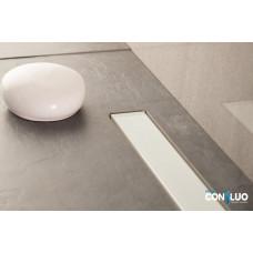 Душевой лоток Pestan Confluo Frameless Line 300 White Glass