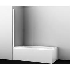 Стеклянная шторка на ванну Berkel 48P01-80WHITE