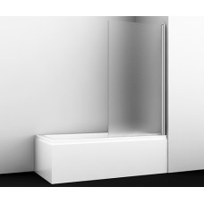 Стеклянная шторка на ванну Berkel 48P01-80R Matt glass
