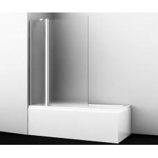 Стеклянная шторка на ванну Berkel 48P02-110L Matt glass Fixed