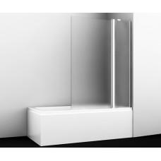Стеклянная шторка на ванну Berkel 48P02-110R Matt glass Fixed